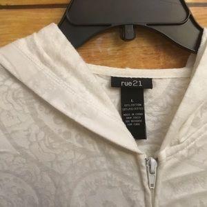Rue21 Jackets & Coats - Rue 21 light jacket size large.